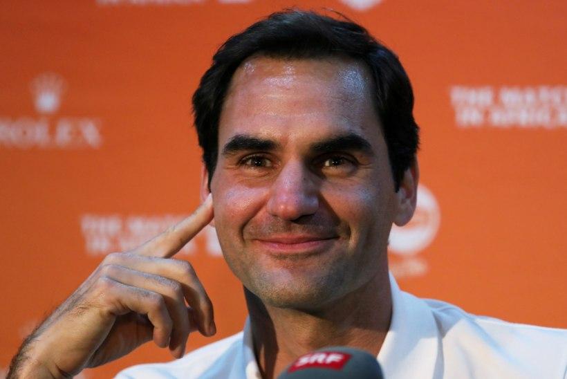 Federer annetas ligi miljon eurot, et aafriklased saaksid süüa
