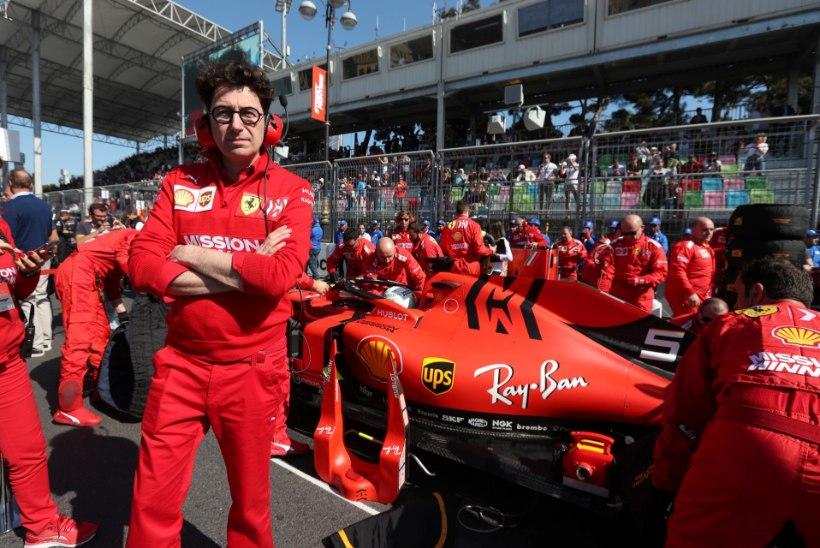 Ferrari vormelitiimi boss uuest koosseisust: see on õnnemäng!