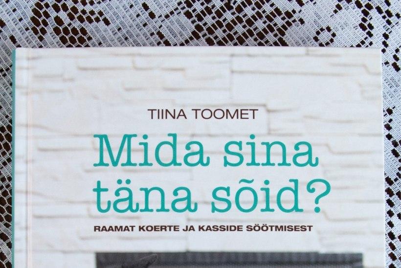 ÕL VIDEO | Tiina Toomet esitleb uut raamatut, kus annab nippe lemmikloomade toitmiseks
