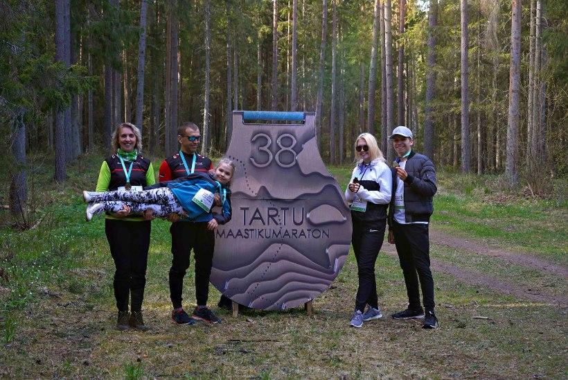 VAHVA: Tartu maastikumaratoni virtuaaljooks ühendas 4000 jooksusõpra üle maailma