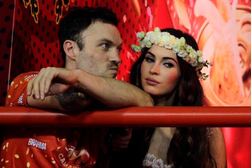 Megan Foxi nähti võõra mehega toitu ostmas – seaduslikult abikaasalt mõistatuslik sõnum