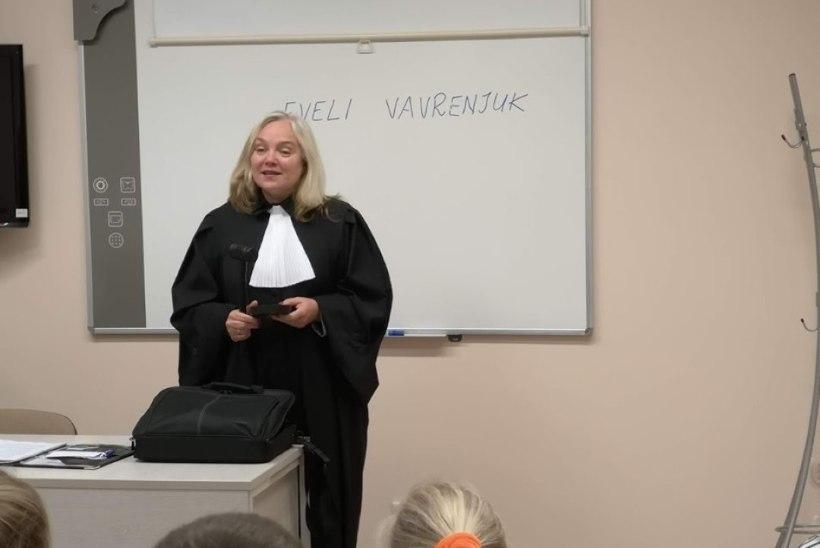 Kuriteokahtlusega kohtunikEveli Vavrenjuknaasis tööle