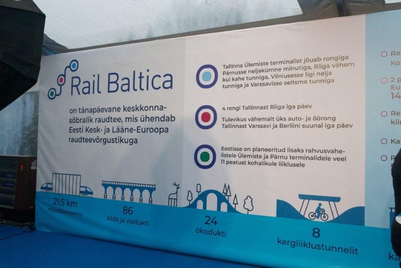 Riigikohus tühistas osaliselt Rail Balticu trassi planeeringu
