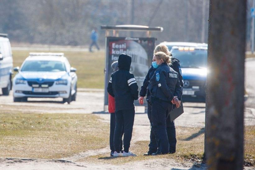 HOIATUSED JA TRAHVID: kui palju oli politseil eriolukorras muret 2 + 2 piirangu rikkujatega?
