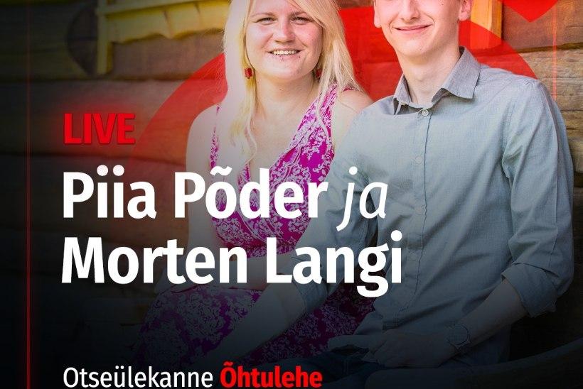 VAATA UUESTI   Piia Põder ja Morten Langi andsid Õhtulehe vahendusel mõnusa veebikontserdi!