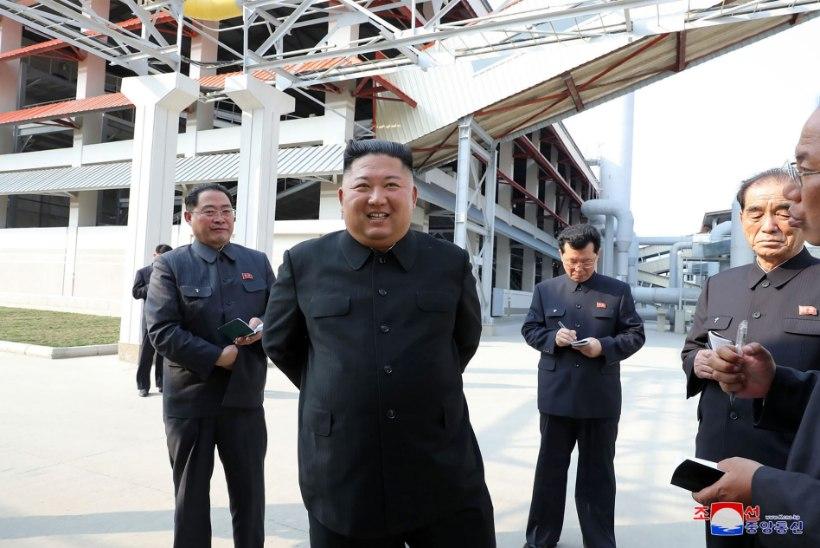 Põhja-Korea meedia avaldas fotod väidetavalt taas avalikkuse ette ilmunud Kim Jong-unist