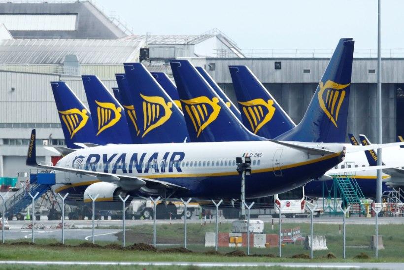 Euroopa riikide valitsusi süüdistav Ryanair kavatseb koondada 3000 töötajat
