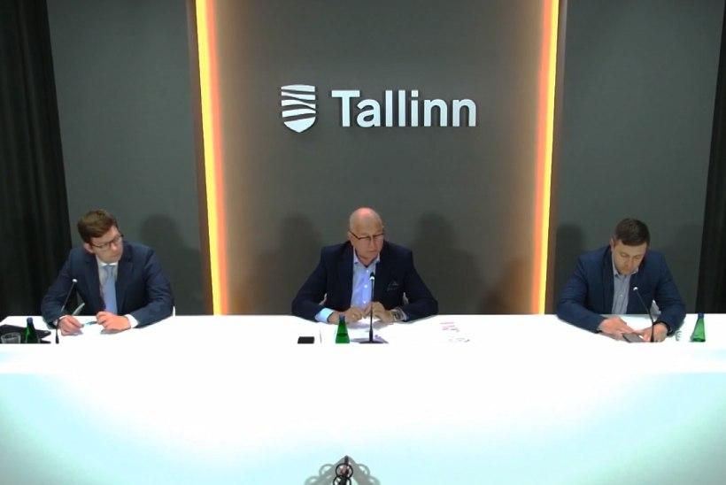 VIDEO | Tallinna linnavalitsus annab ülevaate hetkeolukorrast