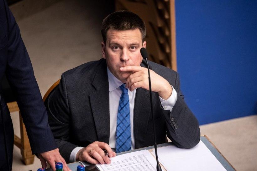 VIDEO | Riigikogu saadikute küsimusterahe all olid Ratas, Solman ja Kokk