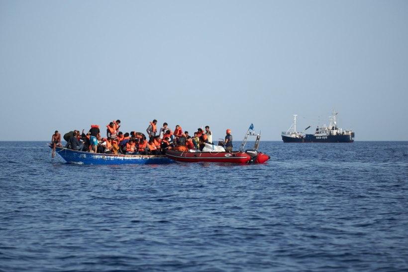 VIDEO | Malta sõjavägi ajas migrandid hoopis Itaalia rannikule