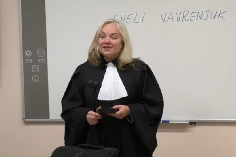 Kapo saatis altkäemaksu võtmises kahtlustatava kohtuniku Eveli Vavrenjuki kriminaalasja prokuratuuri
