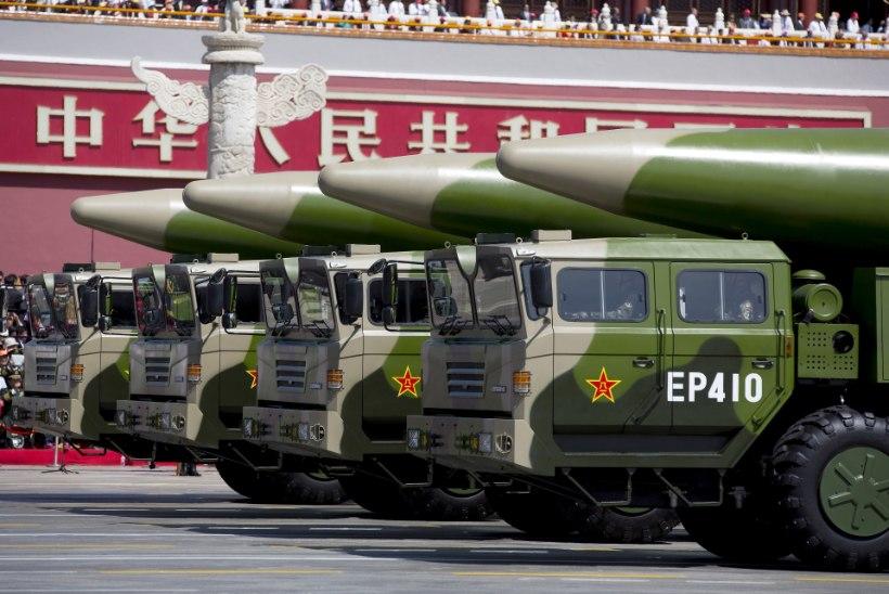 UUS KÜLM SÕDA TULEKUL? Ameeriklased ja hiinlased pommitavad vastastikku karmide süüdistustega