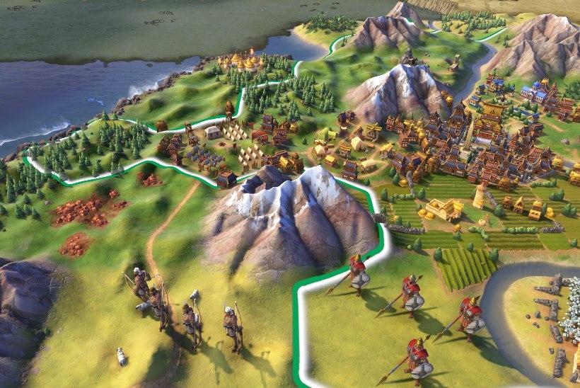 """Epic Games jagab ära tasuta """"Civilization VI"""", lekkisid ka järgmised mängud"""
