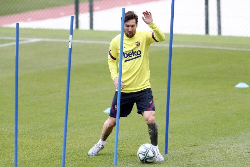 Messi ja kompanii pääsevad kahe nädala pärast uuesti väljakule