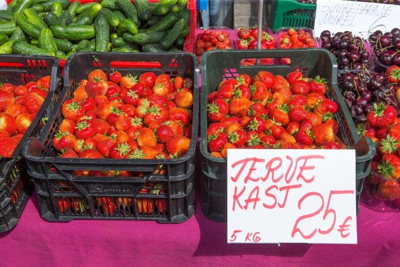 ÕL VIDEO   Tänavaküsitlus: kas Eesti maasikaid eelistatakse ka siis, kui nad oleksid välismaa omadest kallimad?