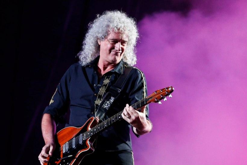 Queeni täht Brian May sai infarkti!