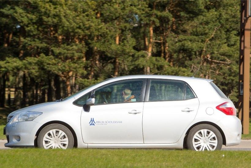 Sõidueksamil kolm korda põrunuil tuleb uuesti sõidutunde võtta