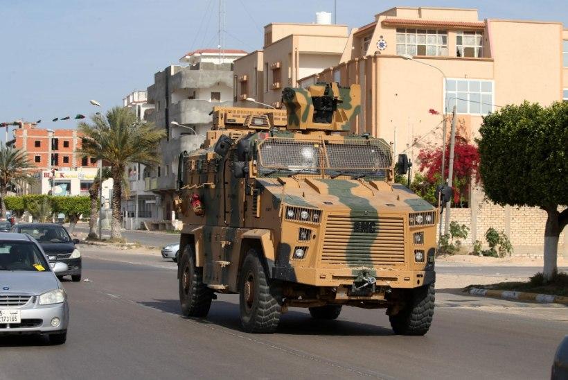 TAANDUMINE? Vene palgasõdurid lahkuvad Liibüast