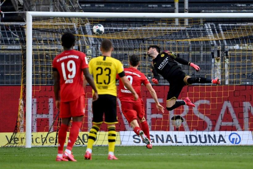 Bayern alistas liidrite lahingus Dortmundi ning astus suure sammu Saksamaa meistritiitli suunas