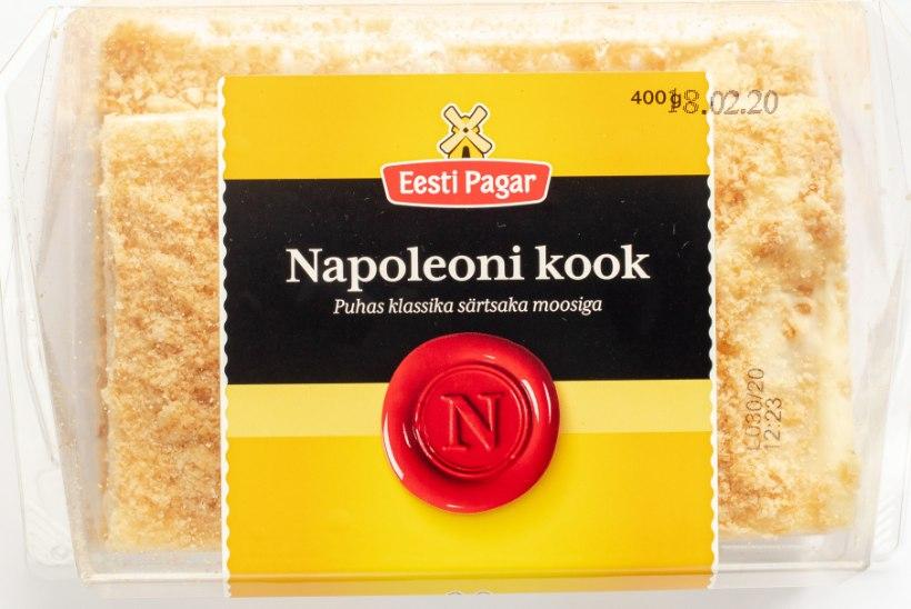 TIIU TESTIB | Lehttainakihid olemas, moos ja kreem tasakaalus – otsime head Napoleoni kooki!