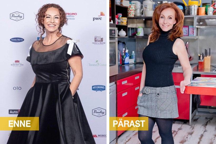 VAATA FOTOSID: Krista Lensin avaldab, kuidas kaotas 10 kilogrammi