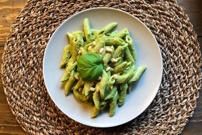 TAIMNE PÄEVARETSEPT   Avokaado-pesto pasta