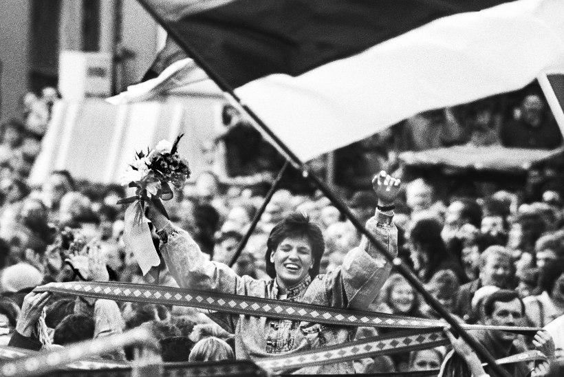 FOTOLAEGAS: kaadreid Eesti võluvatest spordisangaritest Lembit Peegli arhiivist