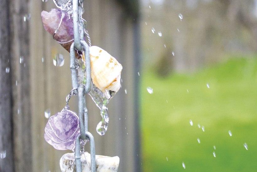 Püüa vihmavesi kinni ehk Kuidas meisterdada aeda vihmaketti?