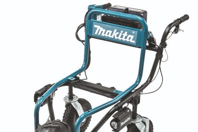 Akutoitega aiakäru: mootoriga abiline, mis kondijõudu ei vaja