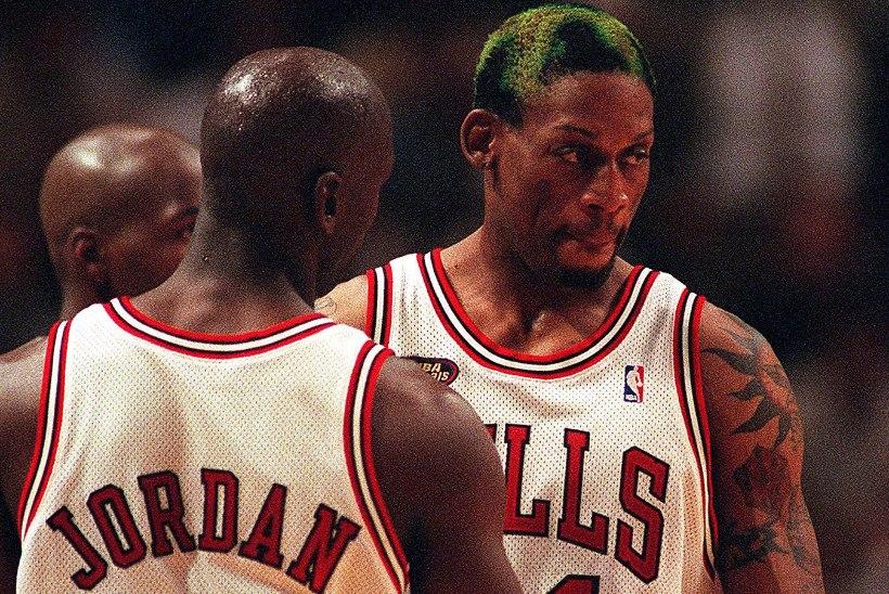 Oliver Lomp   Jalgpallifänn läheb Michael Jordani viimast tantsu vaadates kadedusest roheliseks