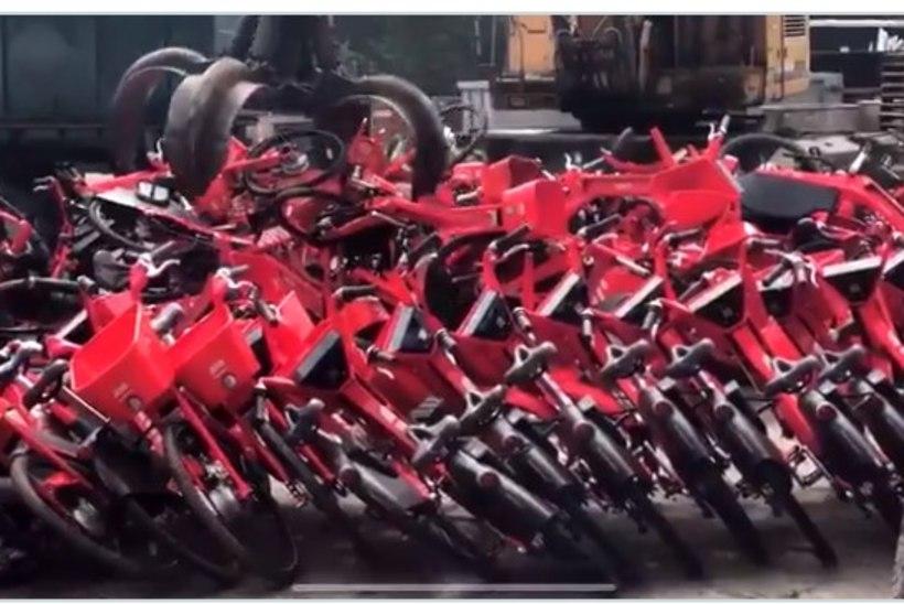 VIDEO | Uber hävitas tuhanded rattad ja rollerid