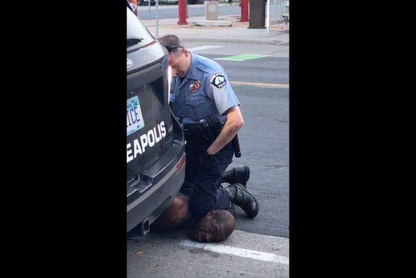 LINN PÕLEB! Relvastamata mehe surm politseiniku jala all vallandas Minneapolises mässu, rüüstamised ja põletamised