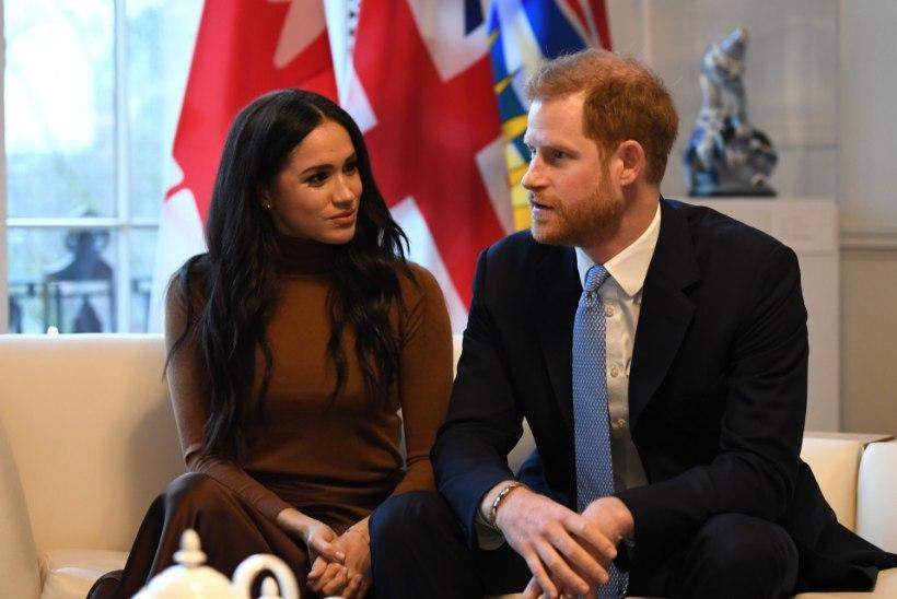 Prints Harryt ja Meghanit kimbutavad droonid