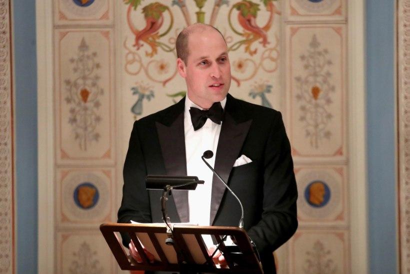 Prints William paljastab, et tervisehädast on talle kasu olnud