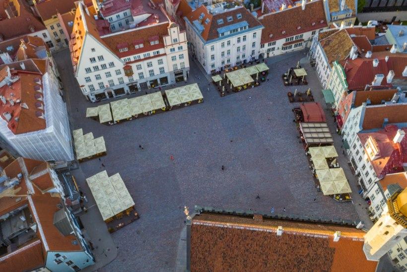 ÕLLE HIND REKORDMADAL: Tallinna Raekoja platsi söögikohtade hinnad kukkusid kivina