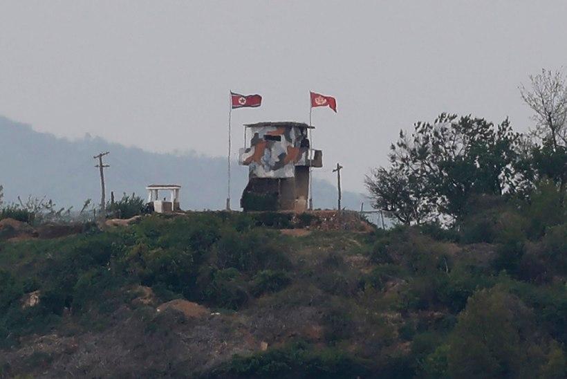 Põhja-Korea avas pärast Kim Jong-uni väljailmumist Lõuna-Korea suunas tule
