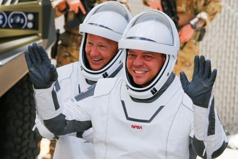 Crew Dragon saadeti õnnelikult teele kosmosejaama