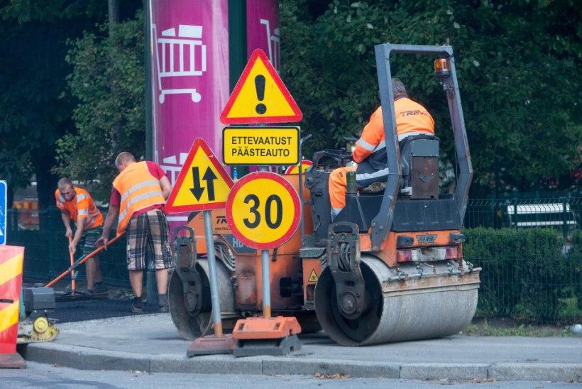 SÕIDUKIJUHILE KASULIK: sellel nädalal hakkavad teetööd mitmes kohas liiklust piirama