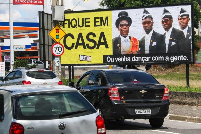 LÕBUS, ENT HOIATAV: tantsivad Ghana kirstukandjad said koroonakriisi taustal internetisensatsiooniks