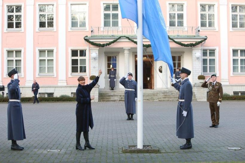 President Kaljulaid kergitas kalevit ÜRO julgeolekunõukogus toimuvalt: see on elegantne!