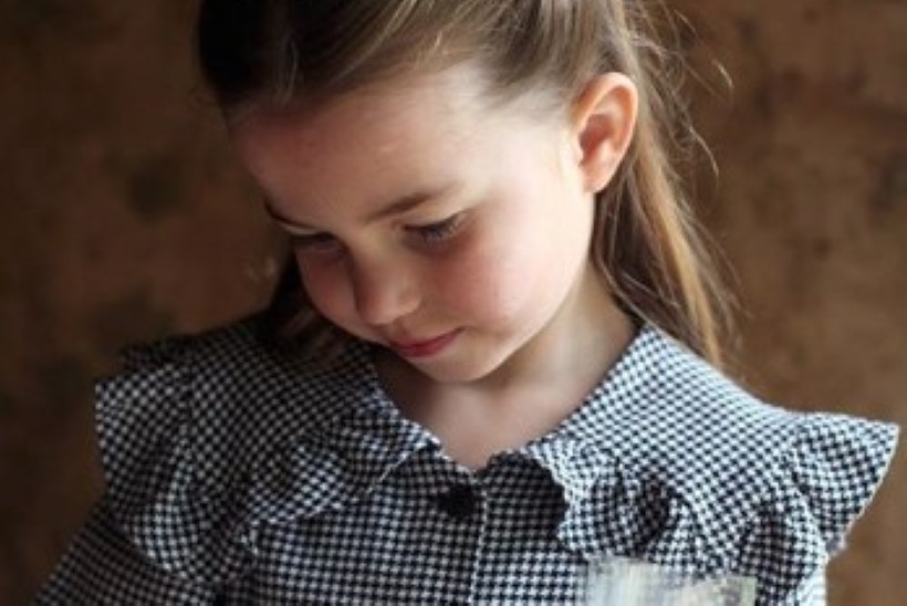 Prints Williami tütar printsess Charlotte sai viieseks