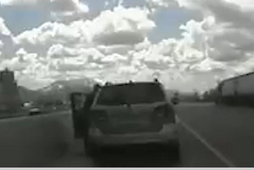 VIDEO | ÕNNELIK ÕNNETUS: viieaastane poiss kihutas ema maasturiga maanteele