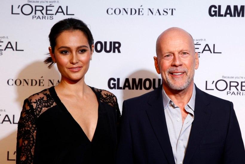VIIMAKS OMETI: Bruce Willis taasühines oma naise ja pisitütardega