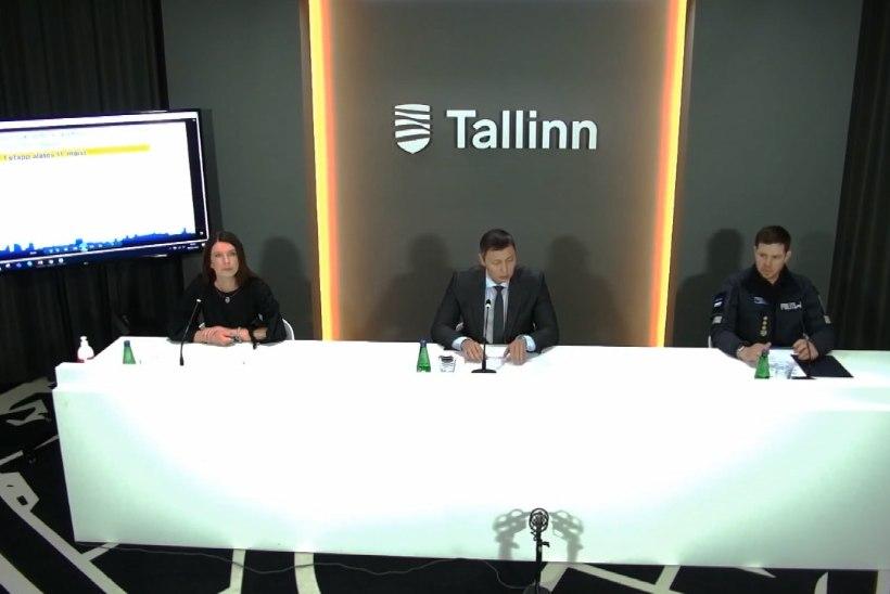 VIDEO   Tallinna kriisist väljumise kava: linnapea Kõlvart piiranguid kergekäeliselt ei leevenda