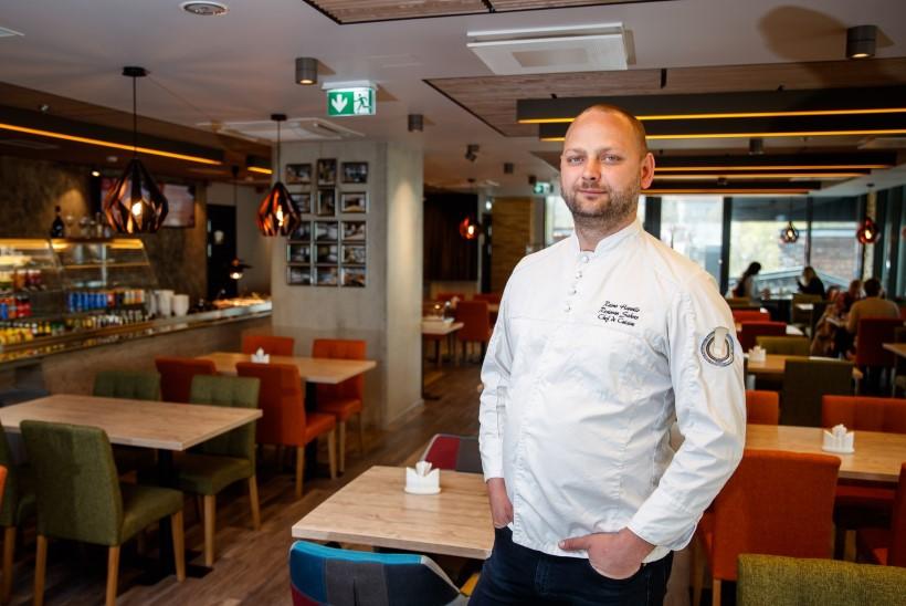 PEAKOKA ANKEET   Sahvri Resto ja Siilisahvri chef'i Reimo Hannilo vinge ja lihtne vürtsikas veisekotlet juustukattega