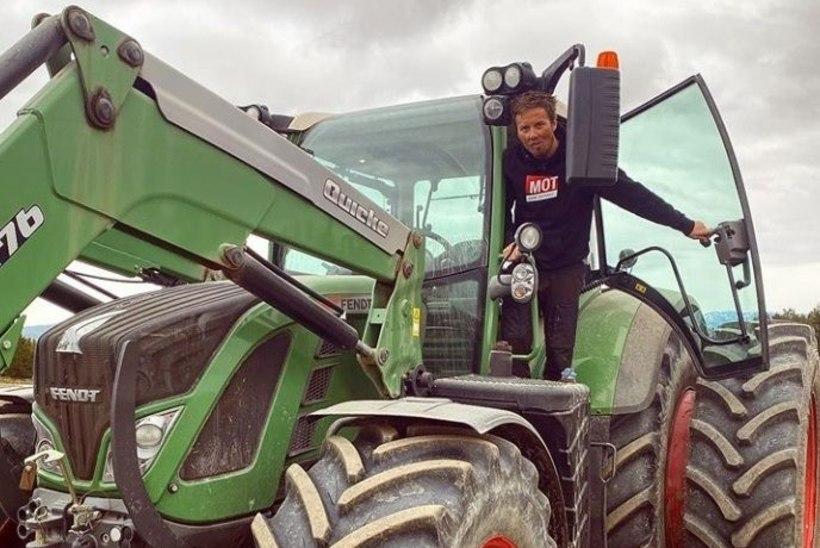 Norra suusatäht vahetas pütilauad traktori vastu