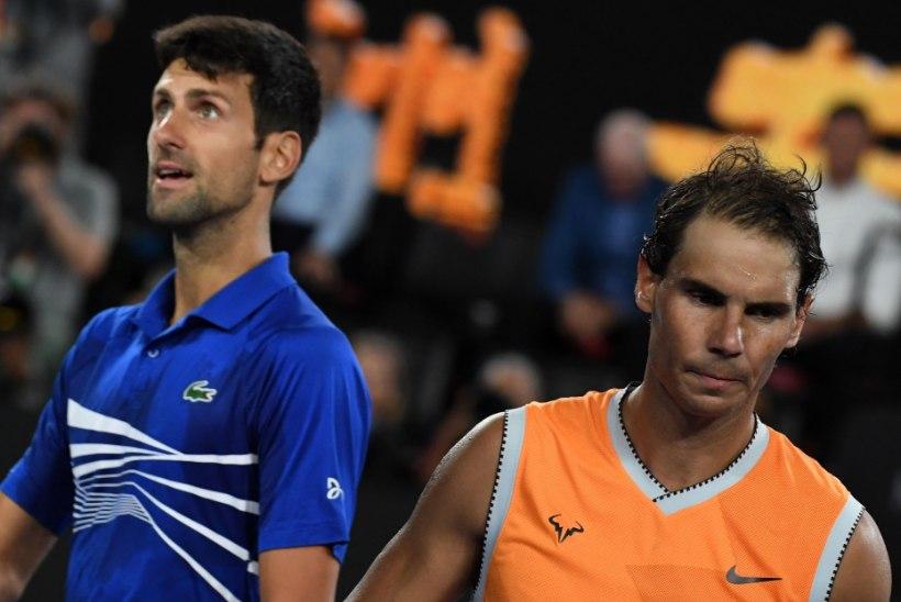 Rafael Nadal: kui Djokovic tahab tipptennises jätkata, peab ta laskma end vaktsineerida