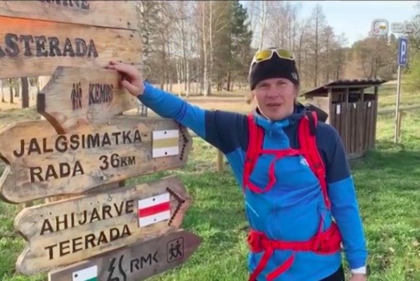 VIDEO |Koroonaviiruse seljatanud eestlane kavatseb mais matkata 1000 kilomeetrit