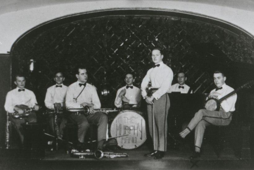 EESTI DŽÄSSI ALGUS: 1918. aastal aluse saanud The Murphy Band jõudis isegi Saksamaale