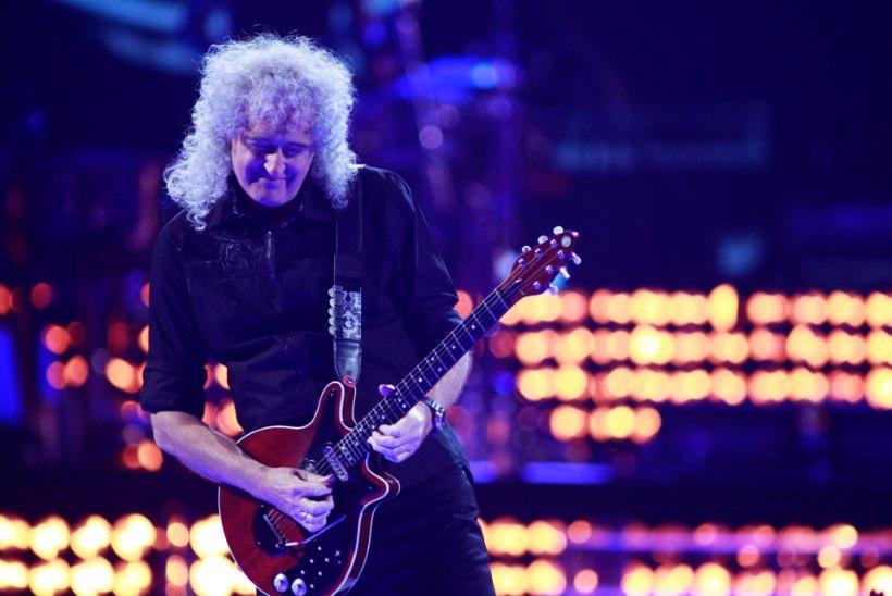 Queeni muusik Brian May rebestas aiatöid tehes tuharalihase